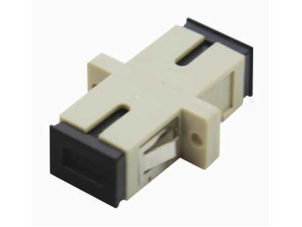 SC Fibre Optical Coupler / Cable Joiner for SC Fiber Cables Extension