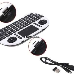 Wireless Touchpad Mouse & Keyboard (No Backlight) uses Lithium rechargeable battery (included) (Seatable / desktop version / 2 hands)