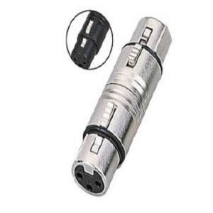 XLR Female to XLR Female Adapter / Coupler - Cable Joiner