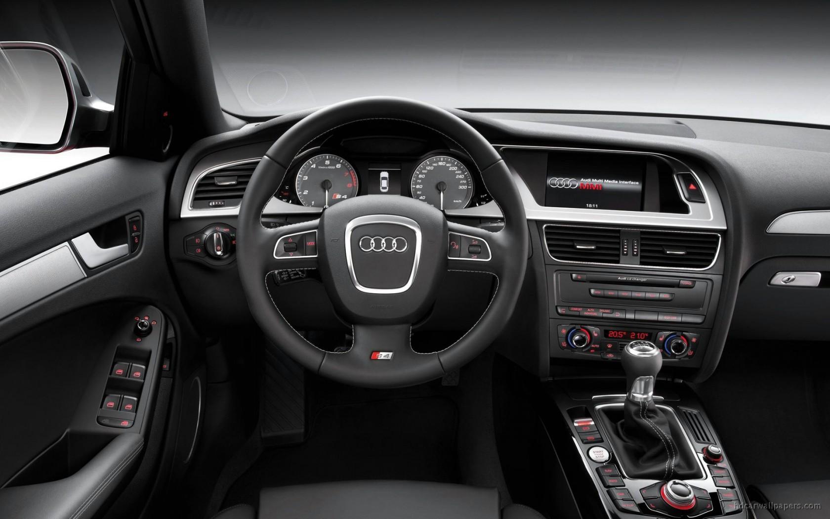 2009 Audi S4 Interior Wallpaper Hd Car Wallpapers Id 78