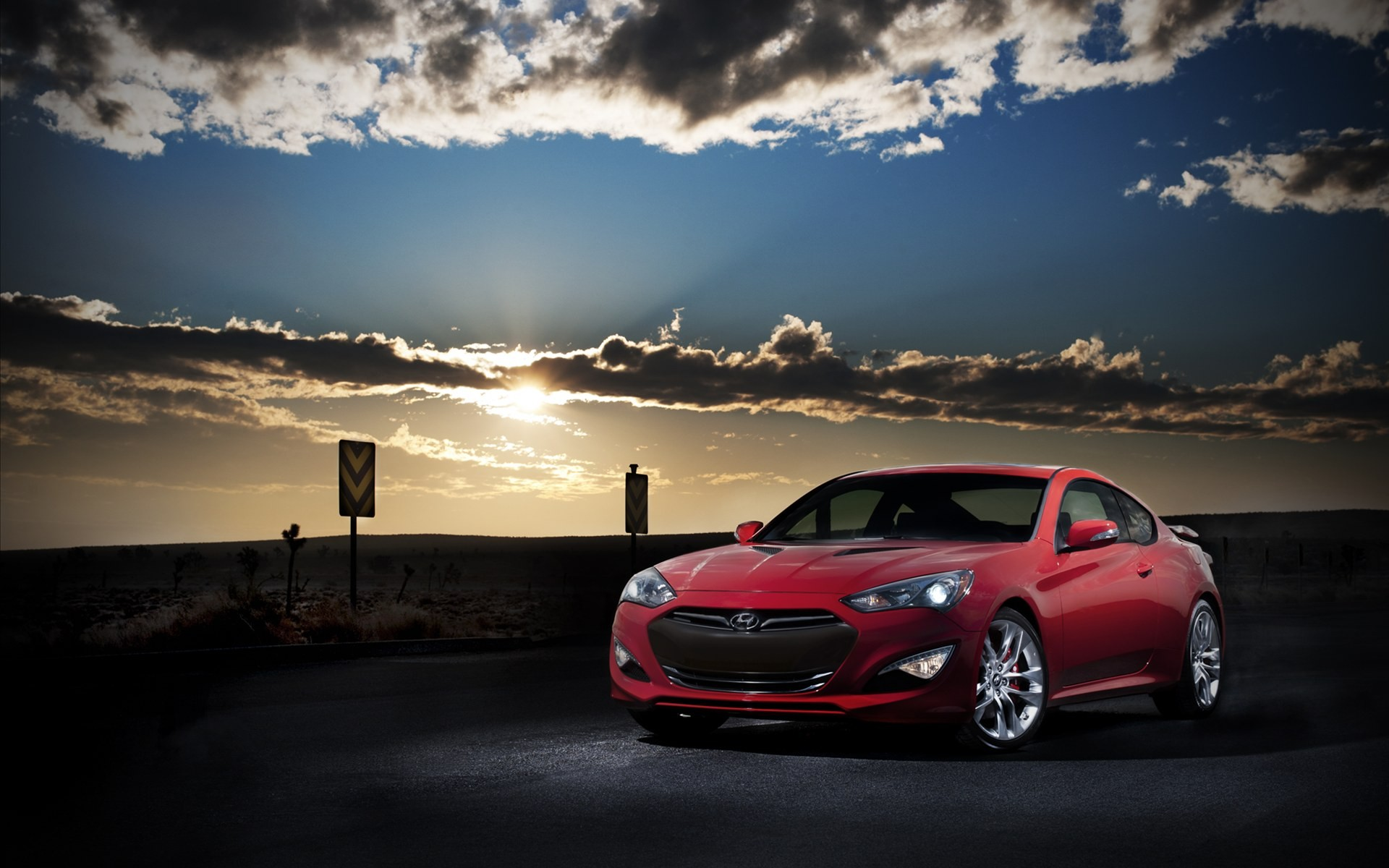 2013 Hyundai Genesis Coupe 2 Wallpaper In 1920x1200 Resolution
