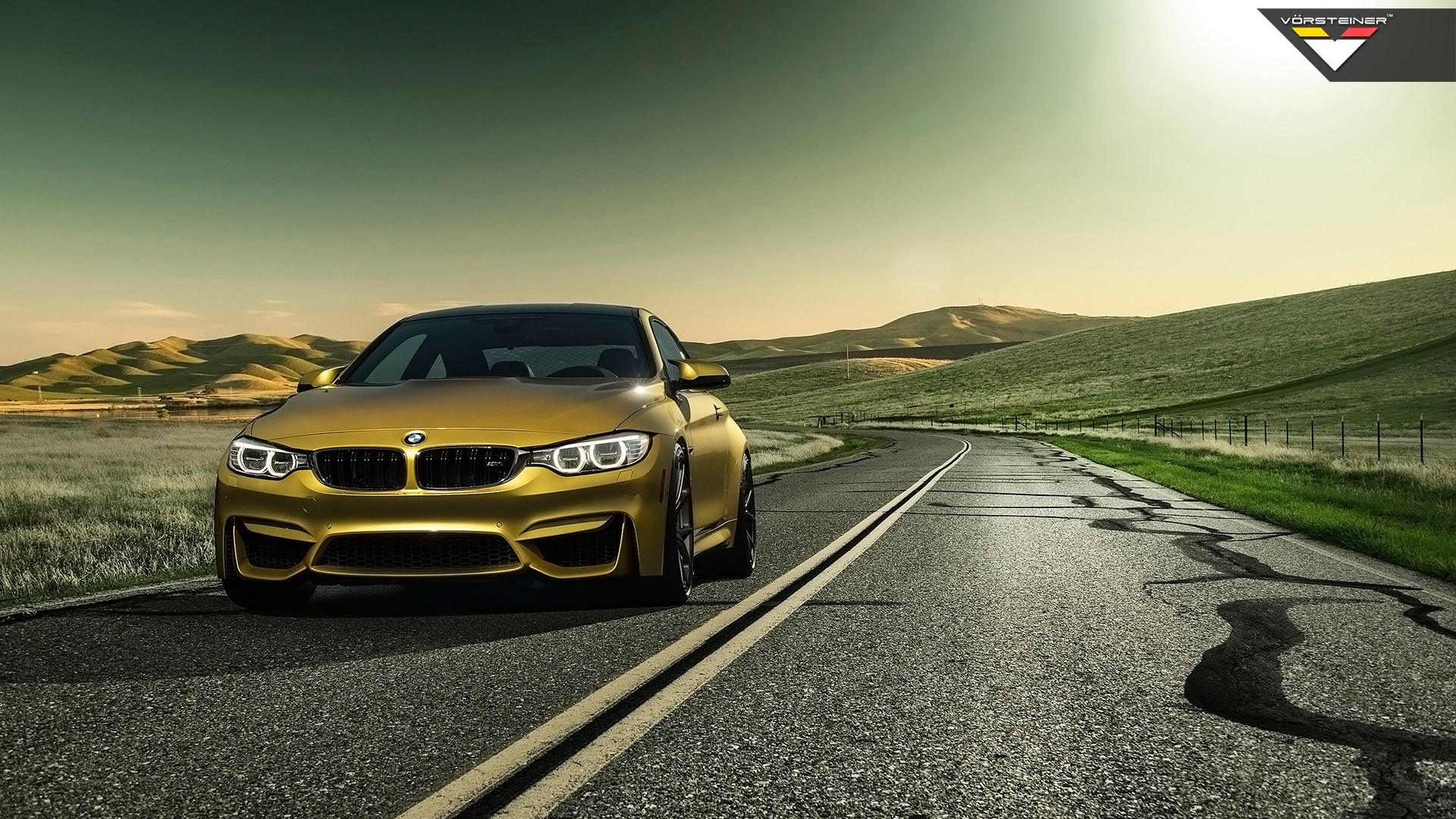 Die standardsoftware auf ihrem fahrzeug wird oft abgeschwächt und reguliert. 2014 Vorsteiner BMW M4 Austin Yellow Wallpaper   HD Car