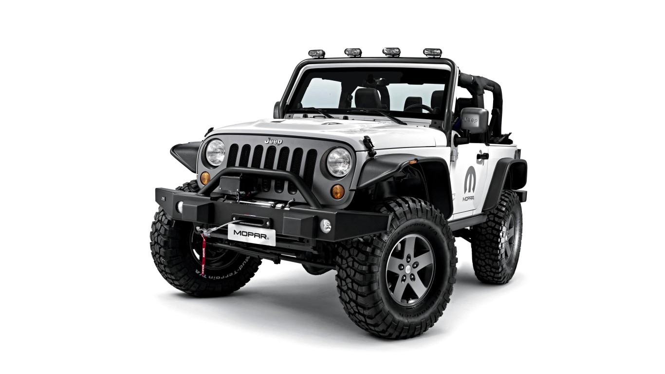 2015 Jeep Wrangler Unlimited Mopar Wallpaper HD Car