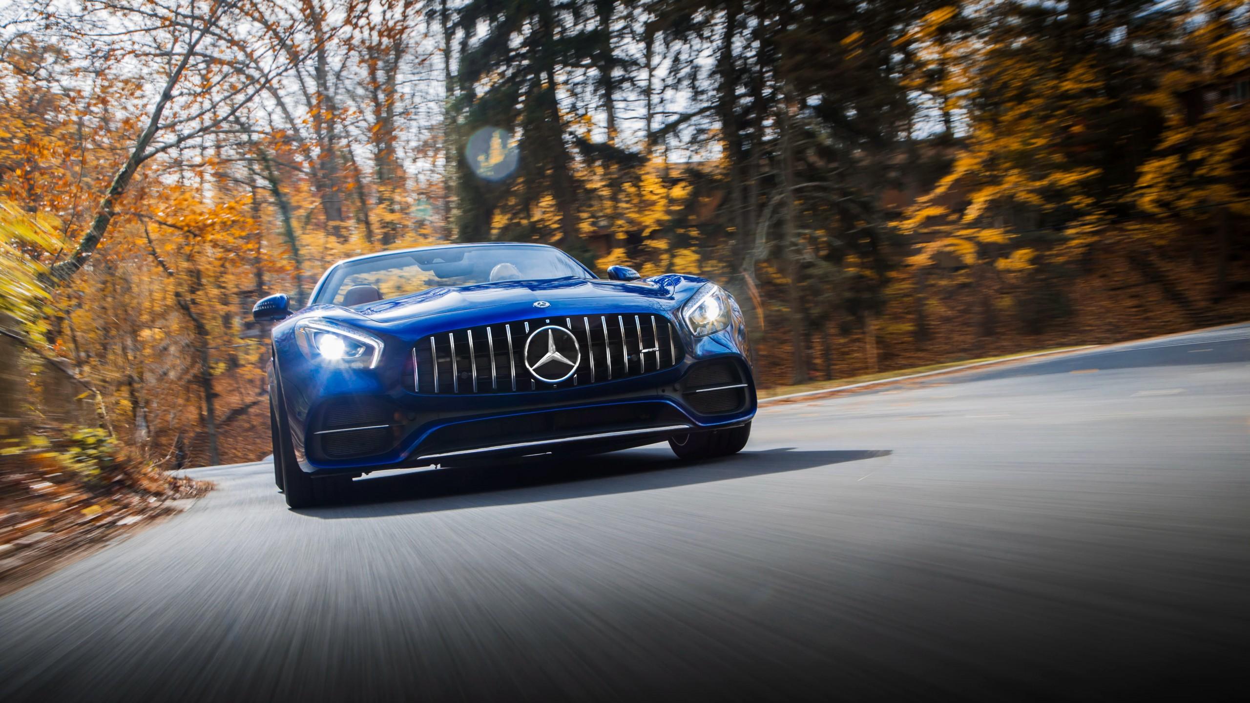 2018 Mercedes AMG GT C Roadster 4K 3 Wallpaper HD Car
