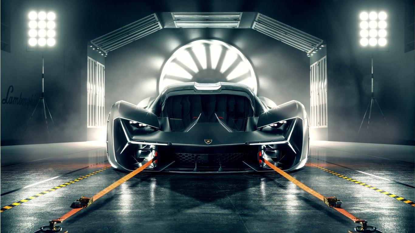 2019 Lamborghini Terzo Millennio 4k 3 Wallpaper Hd Car