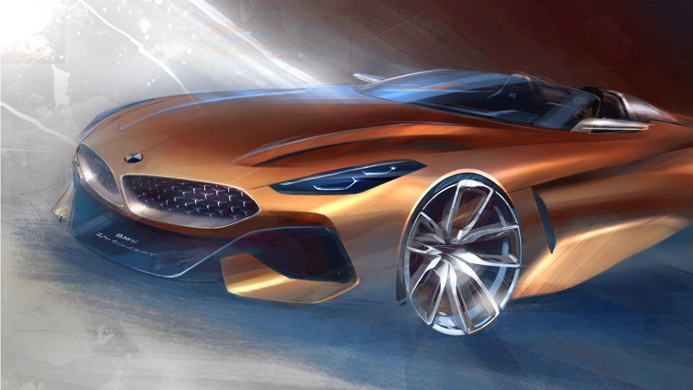 Ab frühjahr 2006 bis zur zweiten. BMW Concept Z4 2017 Wallpaper   HD Car Wallpapers   ID #8213