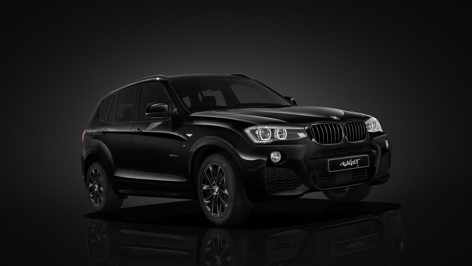 Bmw x3 m40i und bmw x3 m40d überzeugen mit einem besonders ausgewogenen zusammenspiel von performance, komfort und effizienz. BMW X3 Blackout Edition Wallpaper | HD Car Wallpapers | ID