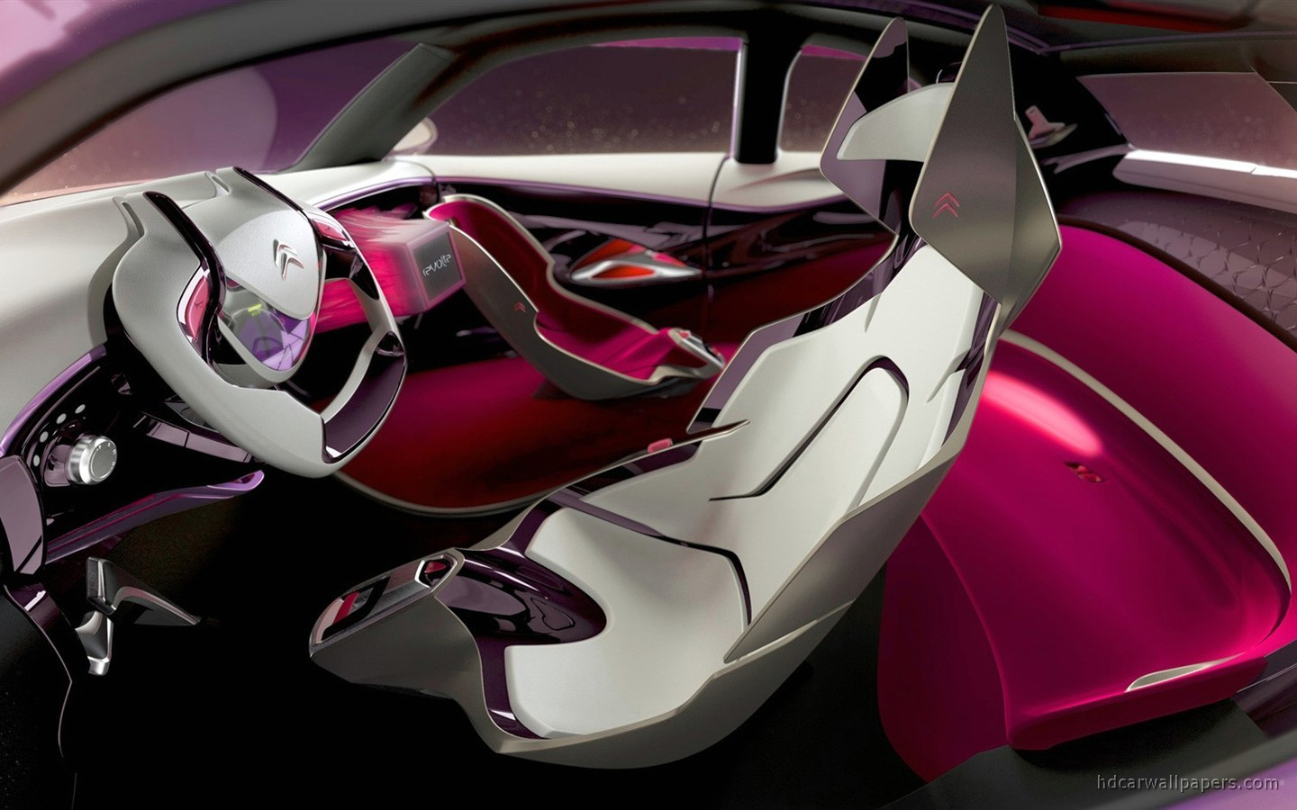 Citroen Revolte Concept Interior Wallpaper HD Car