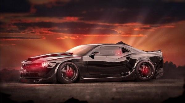 Evil Chevrolet Camaro Muscle Car Wallpaper   HD Car ...