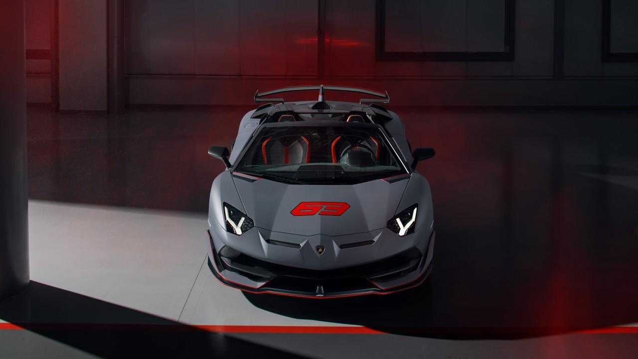 Lamborghini Aventador Svj 63 Roadster 2020 4k Wallpaper