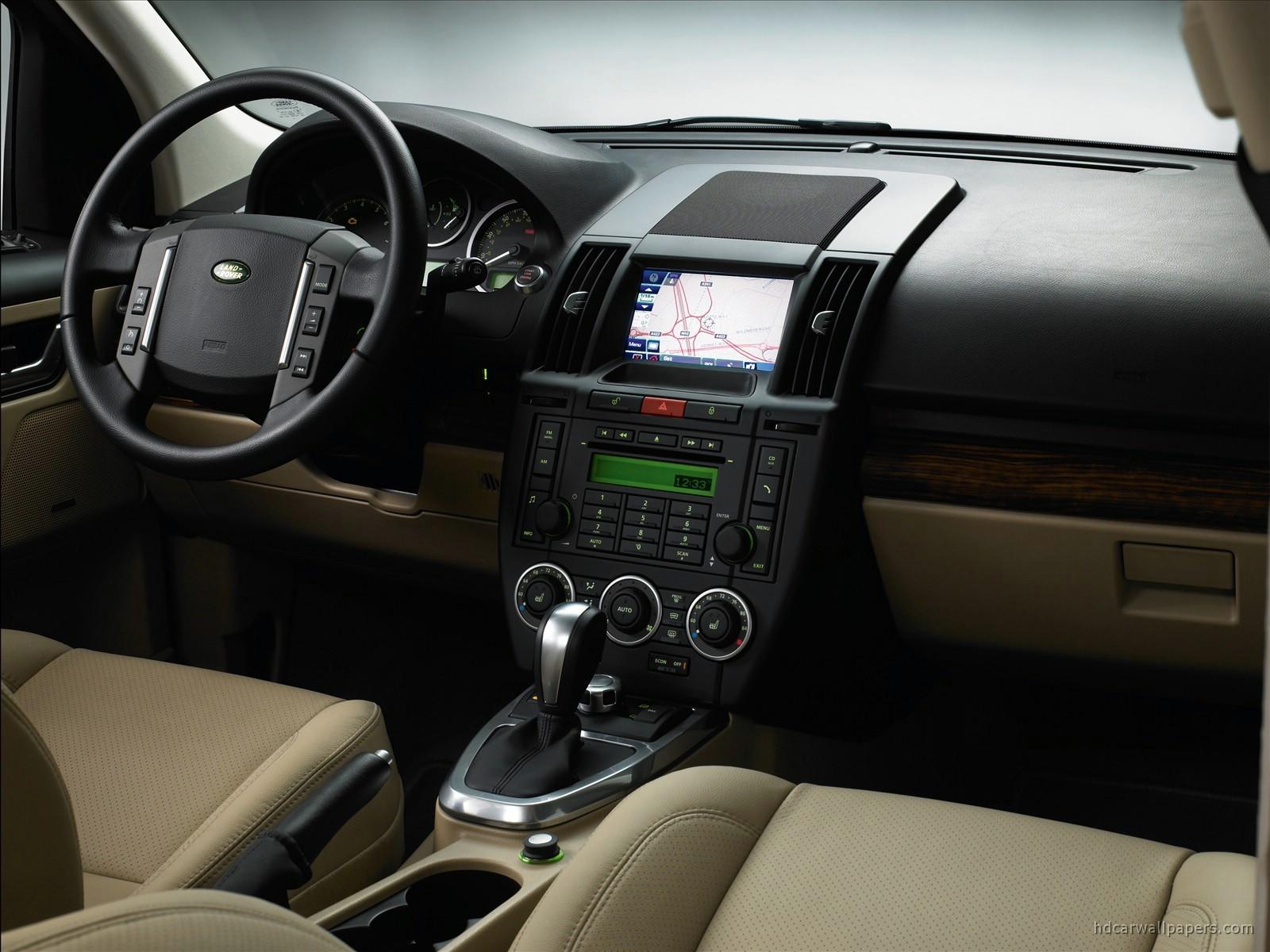 Land Rover Freelander 2 TD4 Interior Wallpaper