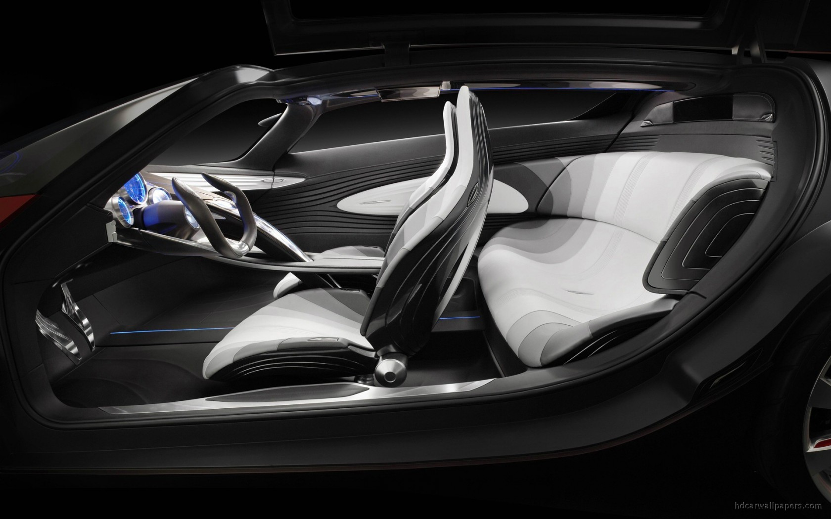 Mazda Ryuga Concept Interior Wallpaper Hd Car Wallpapers