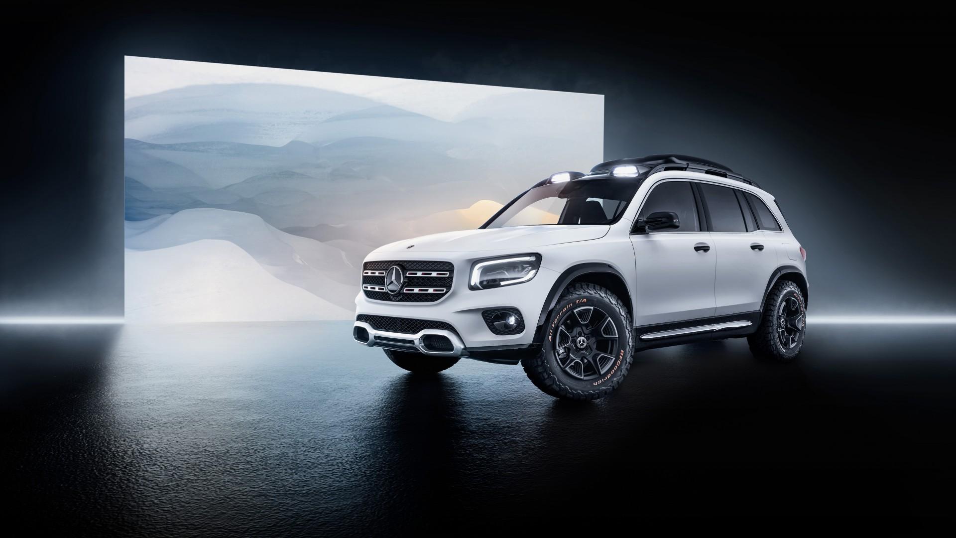 Mercedes Benz Concept Glb 2019 5k Wallpaper Hd Car
