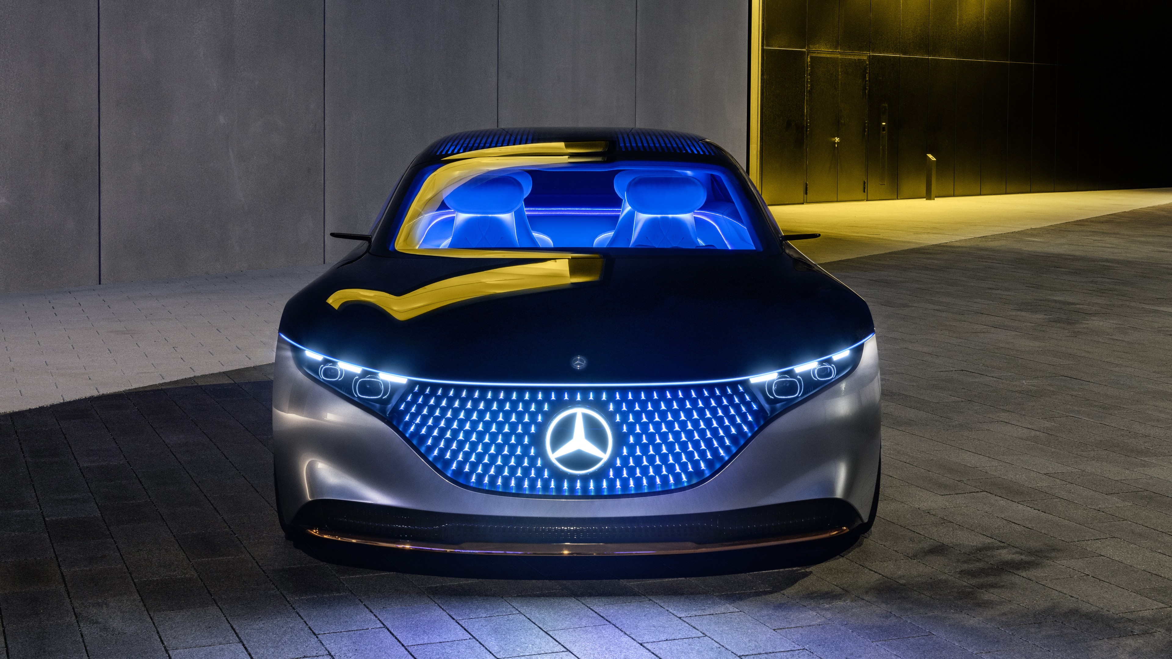 Colorful outdoor backgrounds can help you to feel relaxed or energized for the rest of the day. Mercedes Benz Vision Eqs 2019 4k 5 Wallpaper Hd Car Wallpapers Id 13311
