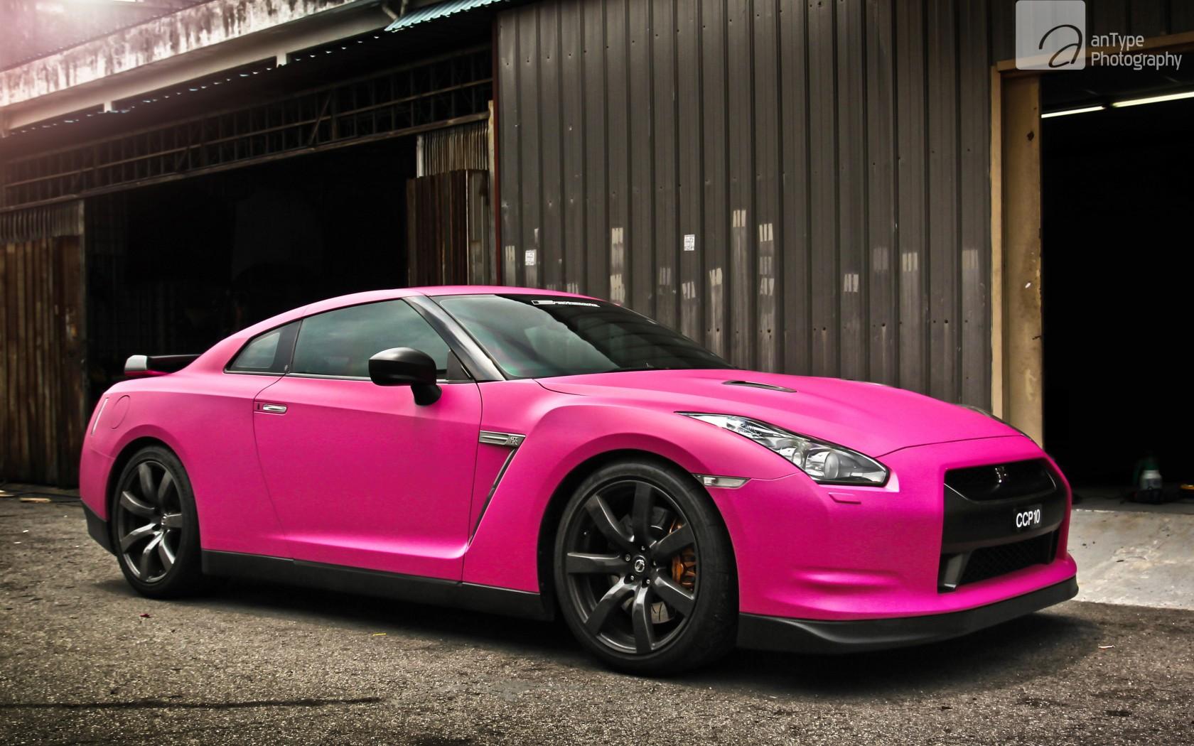 Pink Nissan Gtr Wallpaper Hd Car Wallpapers Id 2975