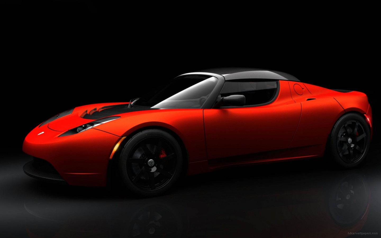 Tesla Roadster Sport Wallpaper Hd Car Wallpapers Id 1269