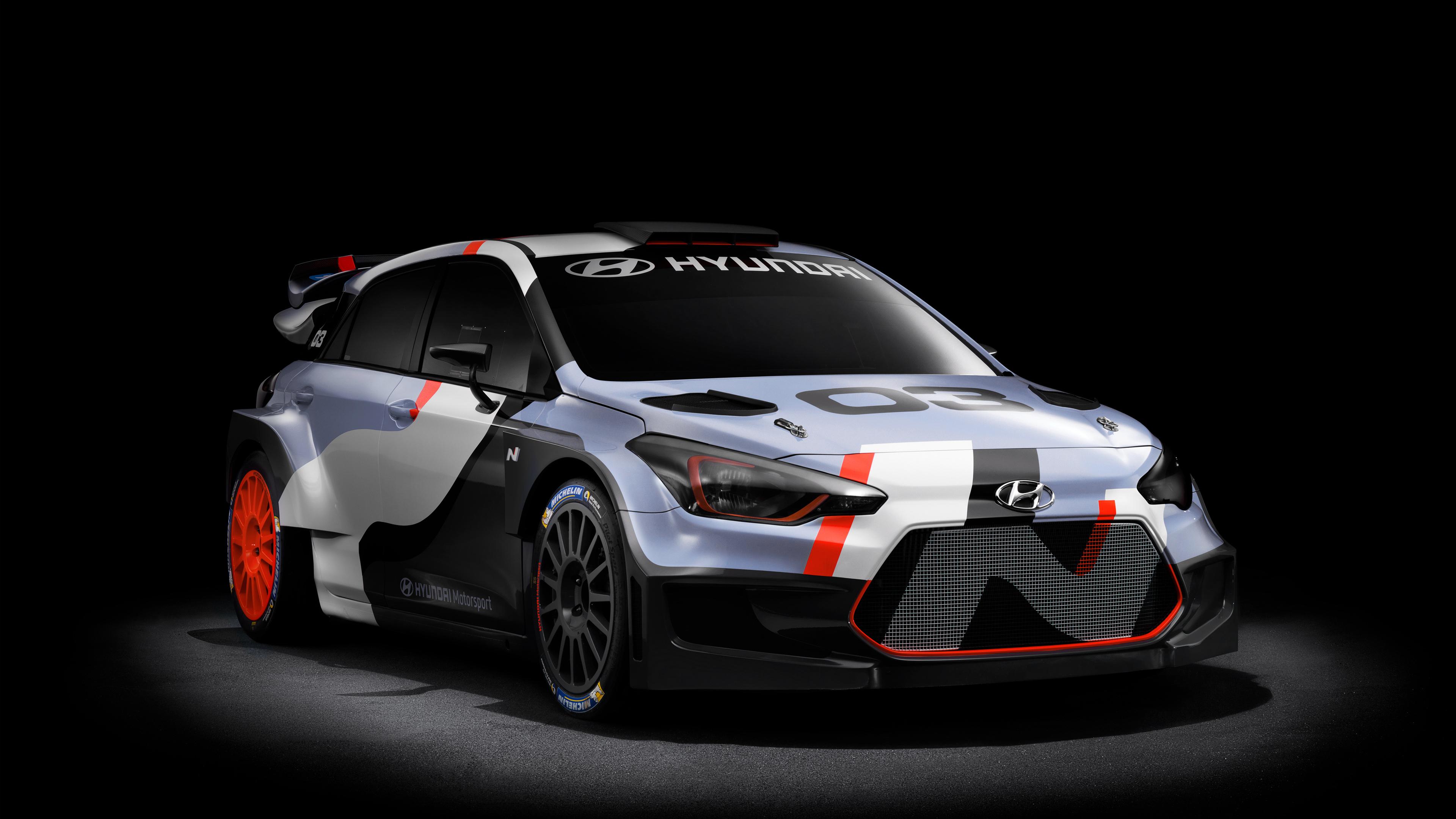 2015 Hyundai I20 WRC Concept Wallpaper HD Car Wallpapers