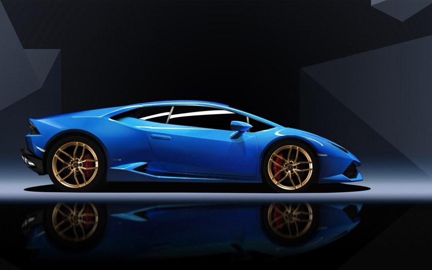 Blue Lamborghini Huracan Wallpaper | HD Car Wallpapers ...