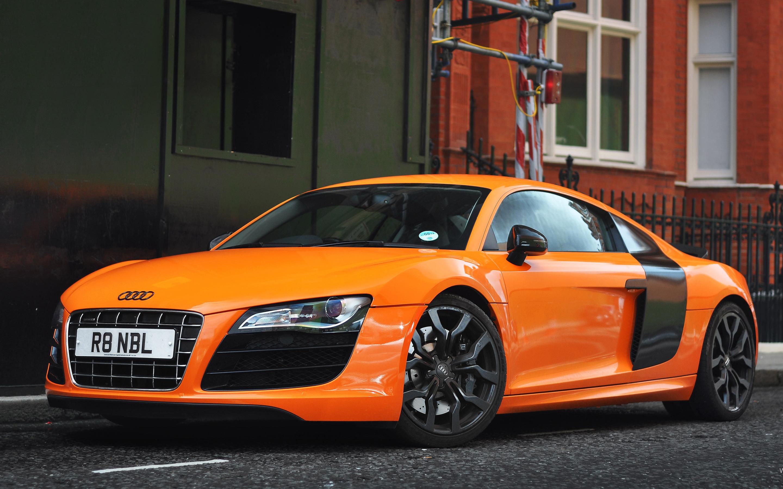 2009 audi r8 lms wallpaper collection. Orange Audi R8 Wallpaper Hd Car Wallpapers Id 2978