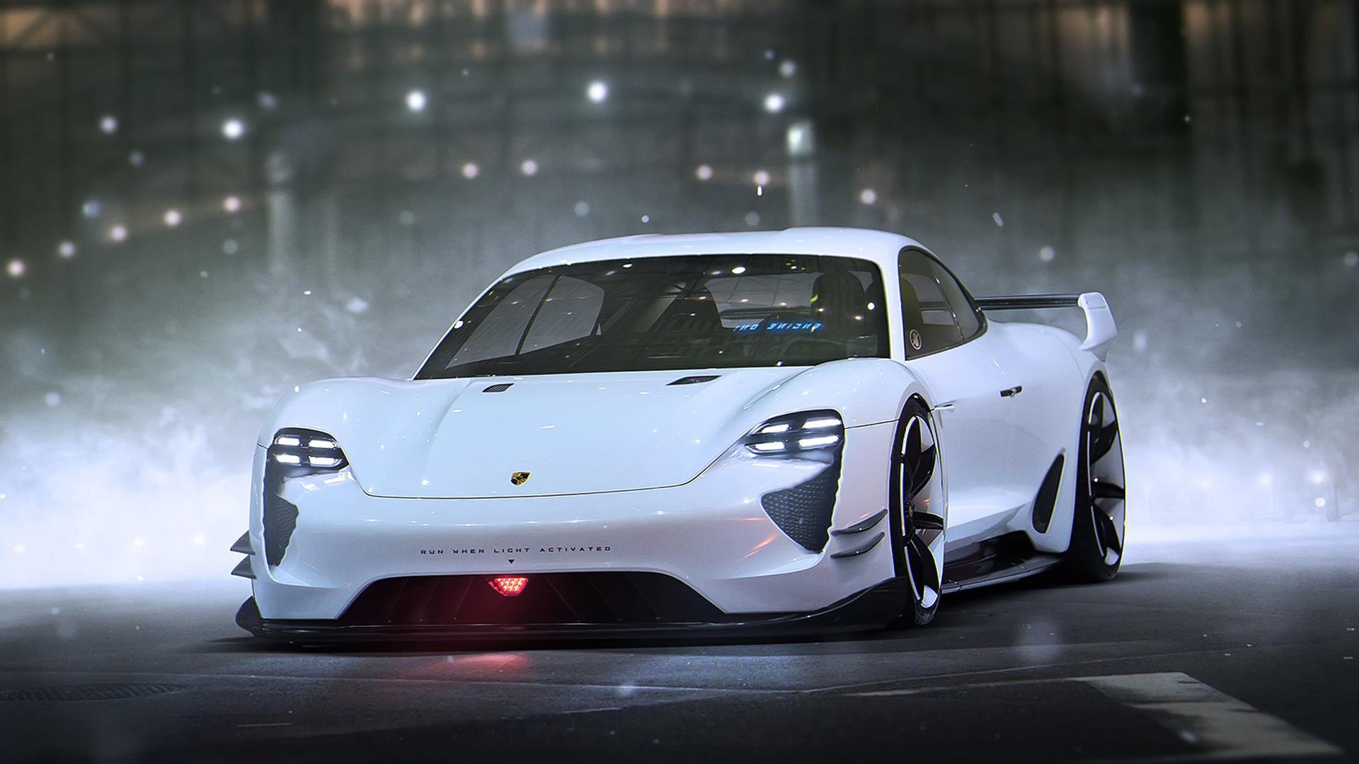 Porsche Mission E Concept Wallpaper HD Car Wallpapers