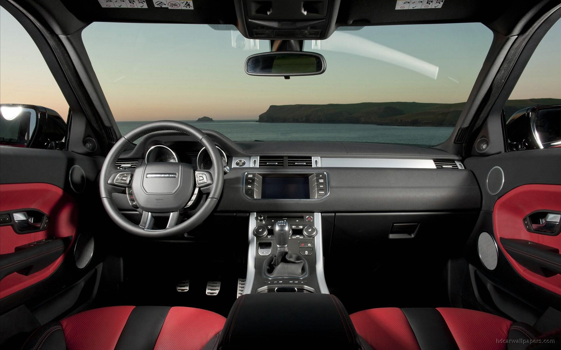 Range Rover Evoque 5 Door Interior Wallpaper