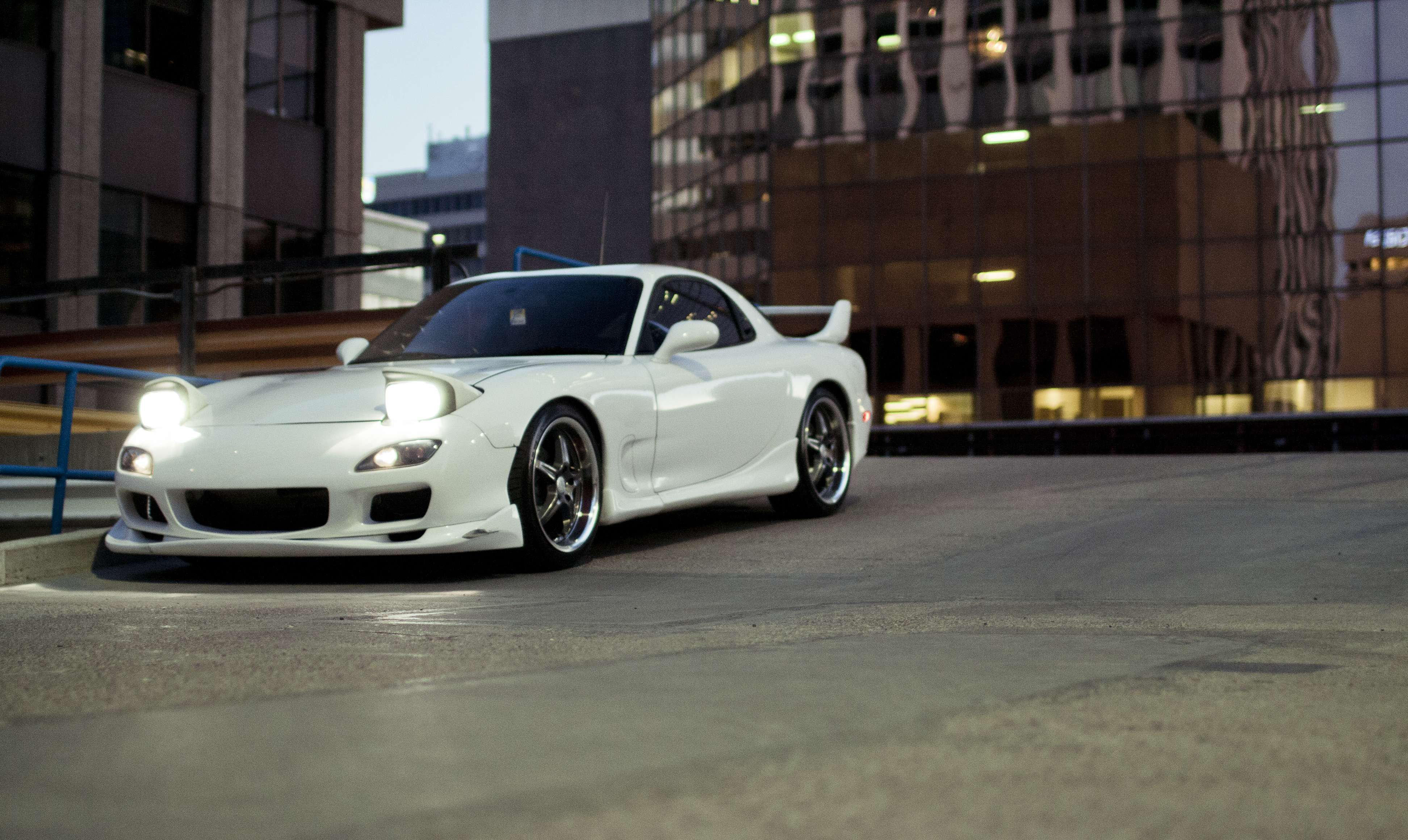 Auto Cars Mazda Rx7 White Hd Wallpapers Hd Car Wallpapers
