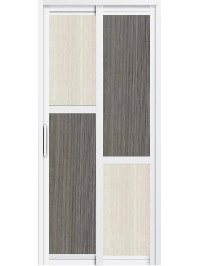 Aluminum SD-7111 Toilet Door
