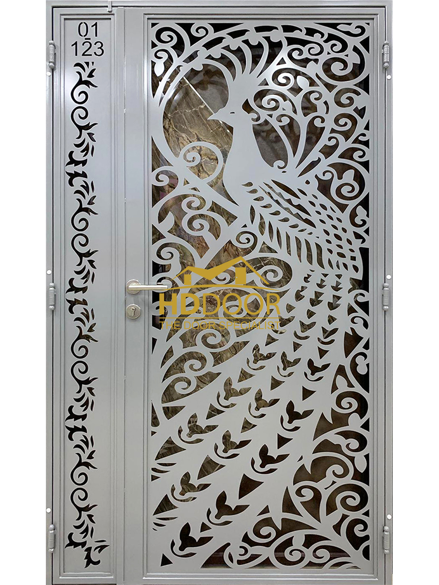 3D Laser Cut Gate Design HDL03