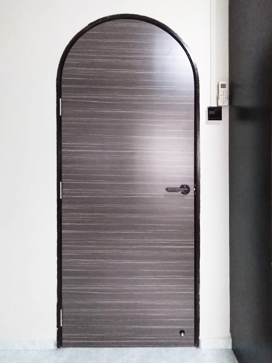 Arch Top bedroom door in Singapore