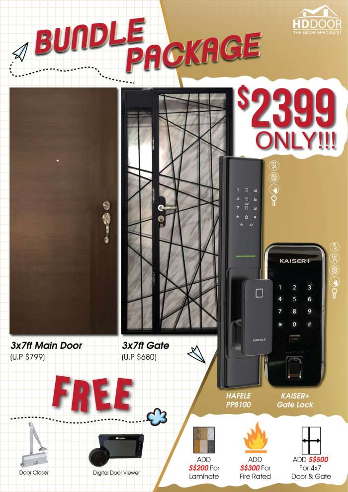 HafelePP8100 Kaiser Gate Digital Lock Bundle Sale 2020