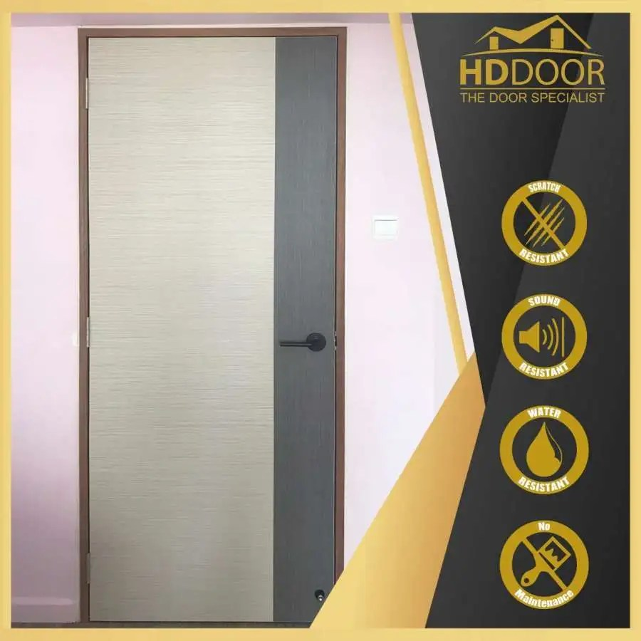 Laminate Solid Door with Two Tone Colour
