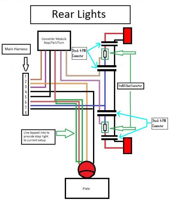 trailer tail light wiring diagram  95 mitsubishi eclipse