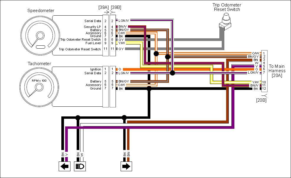 2011 dyna wiring diagram #6 HD Sportster Wiring Diagram 1995 2011 dyna wiring diagram