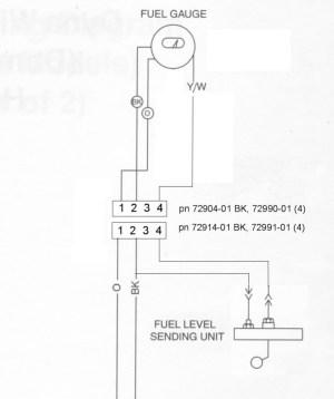 fuel gauge wiring confusing  Page 2  Harley Davidson Forums