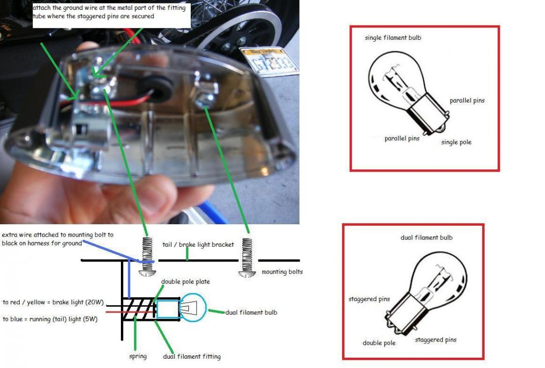 70582d1254258285 need help with wiring a new taillight image and diagram 2?resize=665%2C450&ssl=1 2007 softail wiring diagram wiring diagram 2007 Tahoe Parts Diagram at bayanpartner.co
