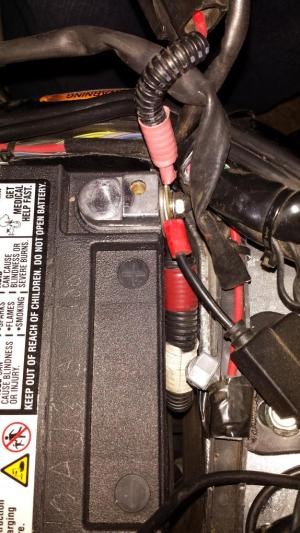 Reconnecting Battery Cables  Harley Davidson Forums
