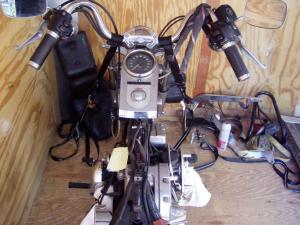 97 Fatboy  Need some front blinker wiring help  Harley