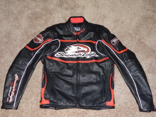Hd Racing Screaming Eagle Leather Jacket Dsc02485 Jpg