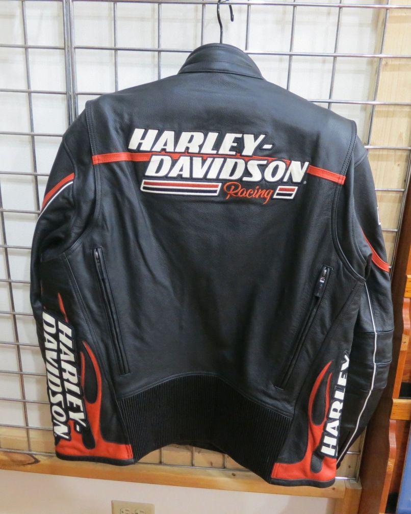 Harley Davidson Screamin Eagle Raceway Men S Leather Jacket New L16001 Jpg