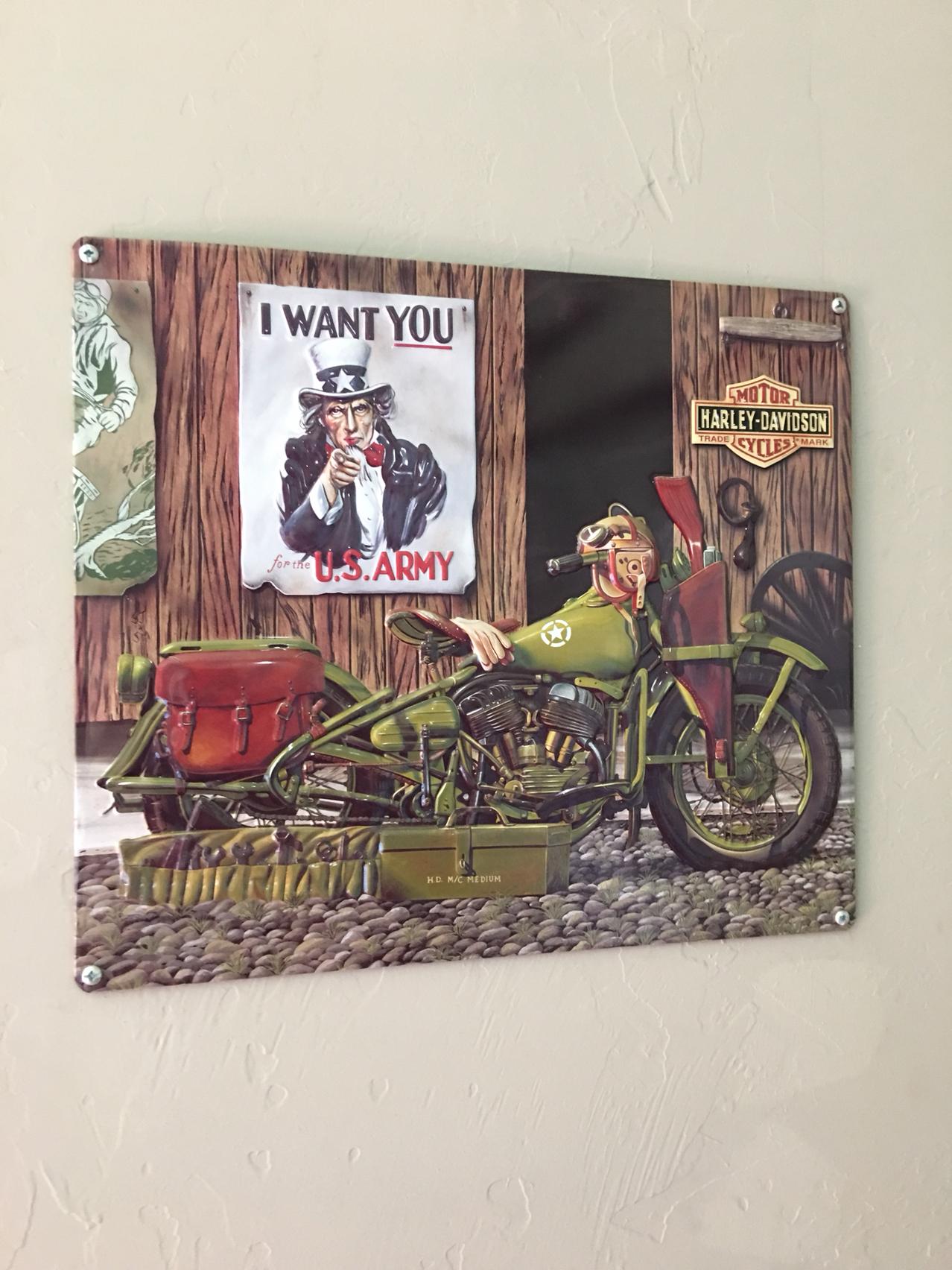 Garage Decor - Harley Davidson Forums on Garage Decoration  id=70773