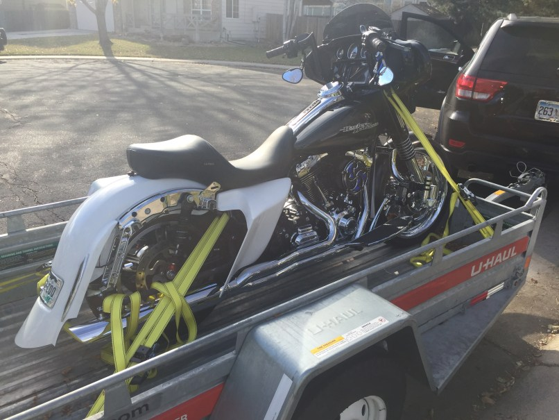 How To Tie Down Motorcycle On Uhaul Trailer | Reviewmotors co