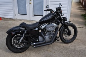 '08 Harley Nightster 1200  Harley Davidson Forums