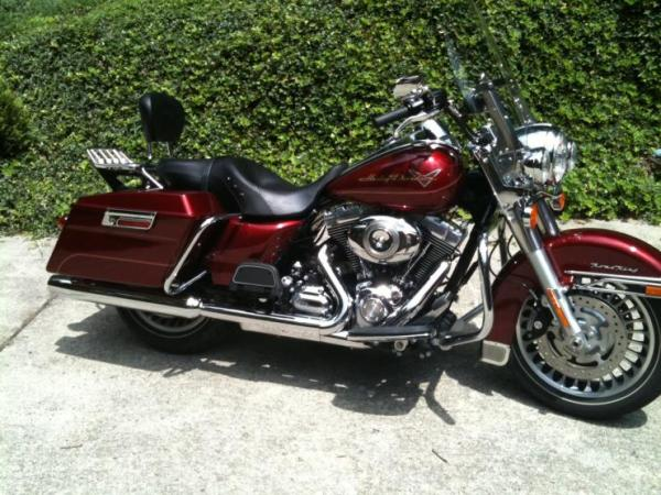 2009 FLHR Road King Red Hot Sunglo North Alabama - Harley ...