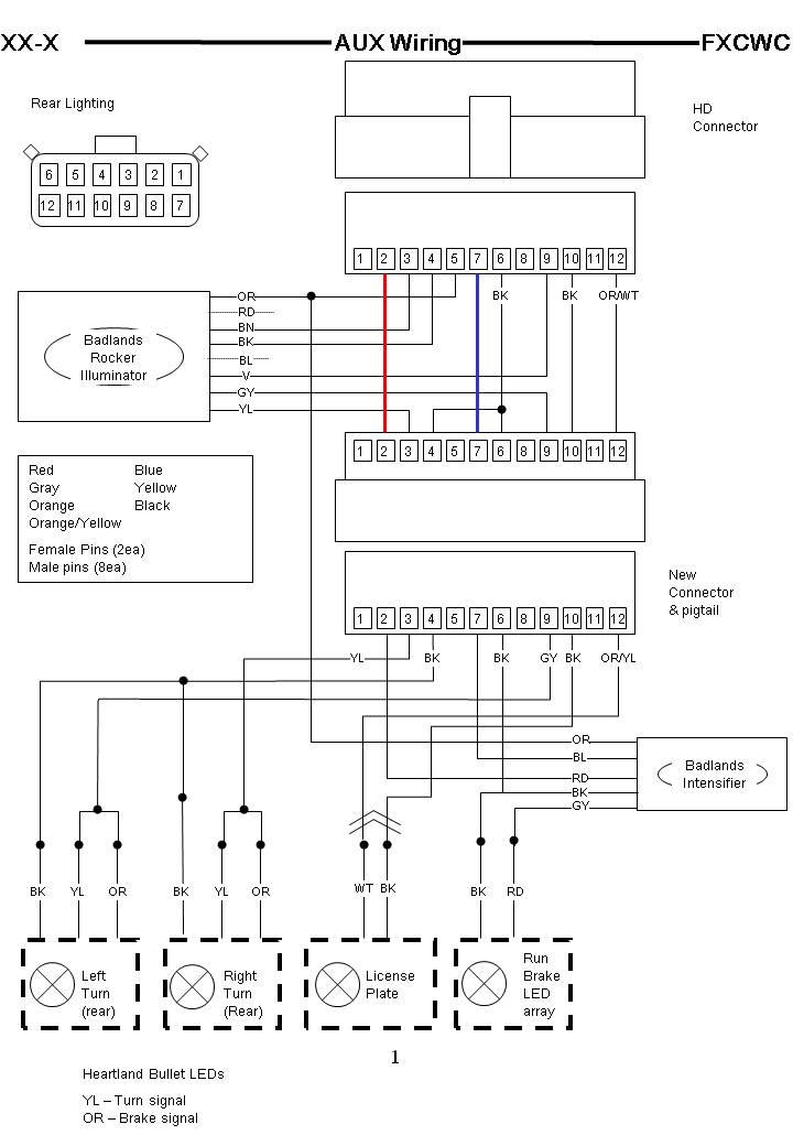 1998 Harley Dyna Wiring Diagram Details | Avecdd Unix on