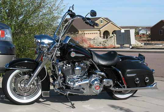 Ape Hangers On A Roadking Harley Davidson Forums