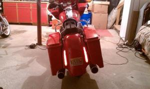 I need help with a CVO rear fender setup  Page 4  Harley