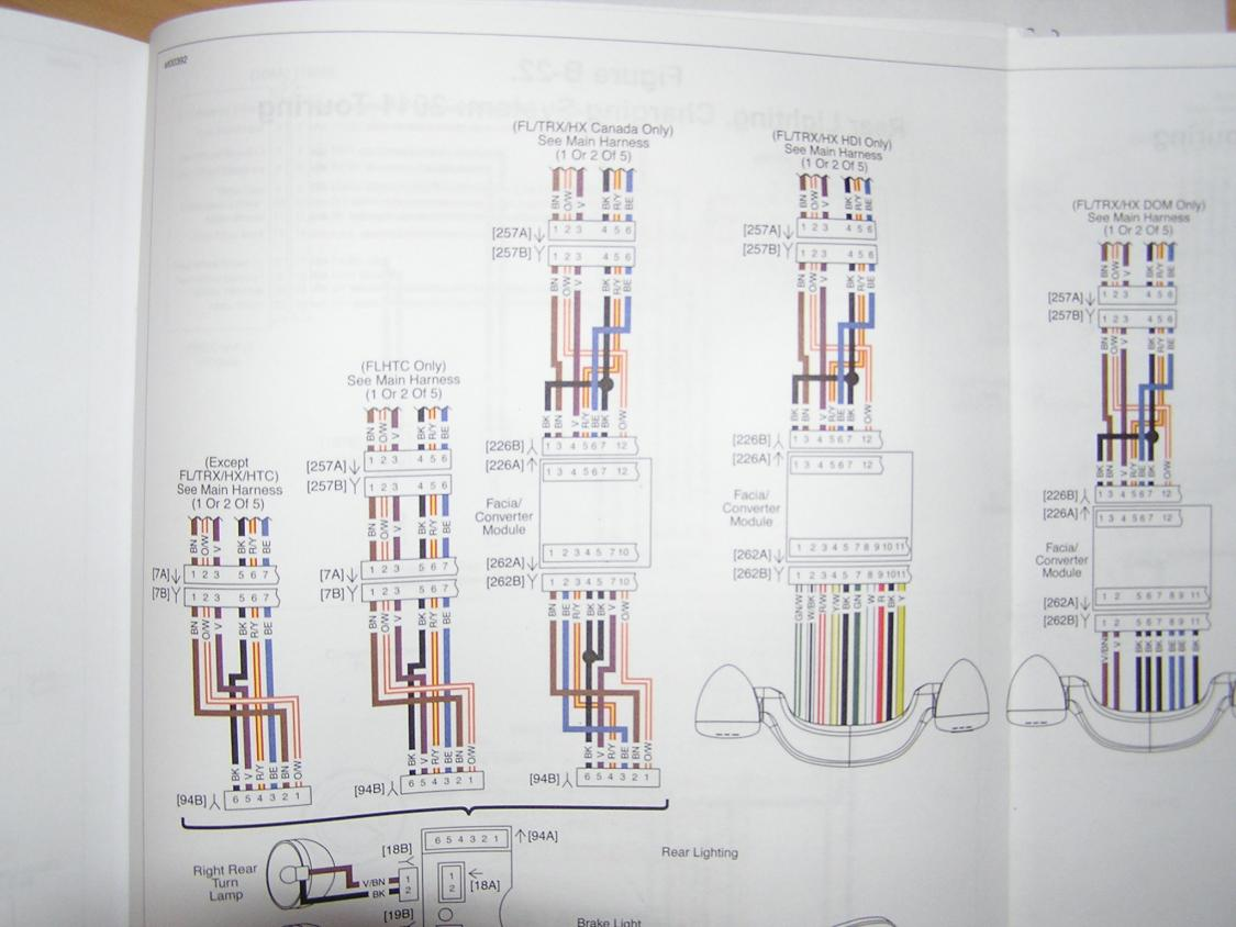 WRG-1887] 2012 Flhx Handlebar Wiring Diagram on