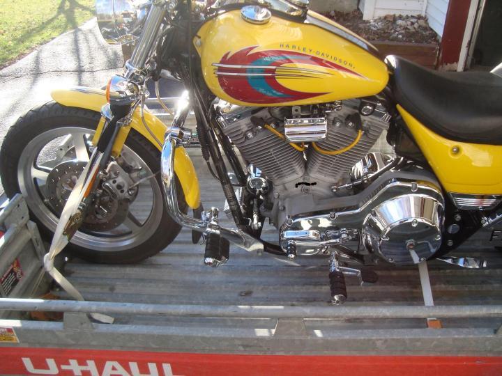 U Haul Motorcycle Trailer 2 Bikes Disrespect1st Com