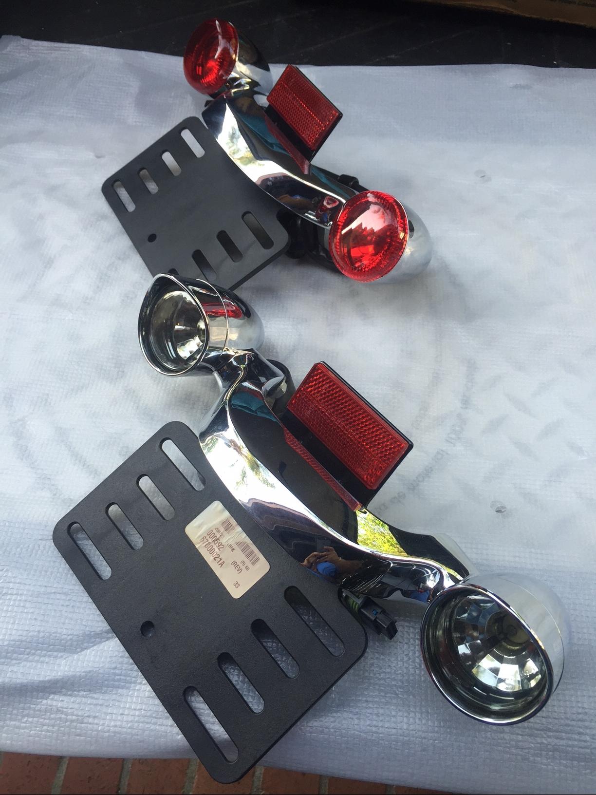 Led License Plate Light Bar