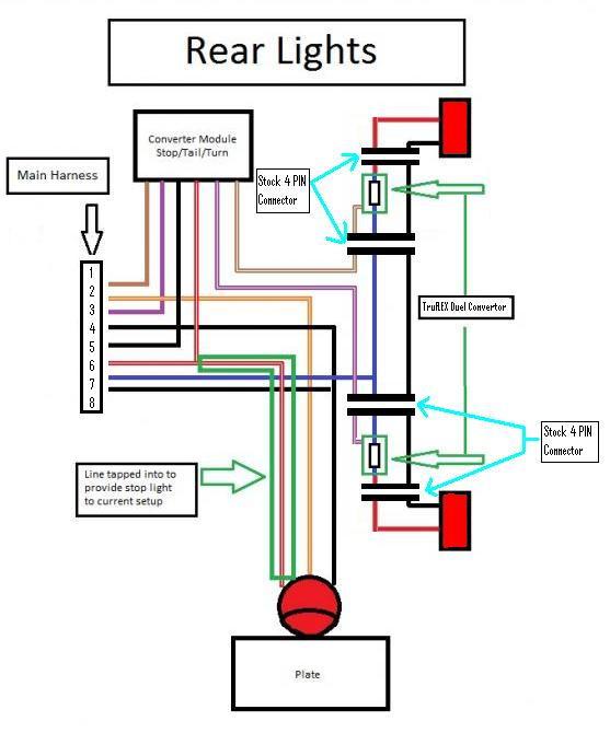 diagram stop turn tail light wiring diagram full version hd